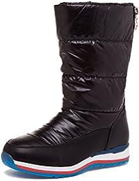 SAGUARO® Botas Planas de Nieve Zapatos de invierno para mujer