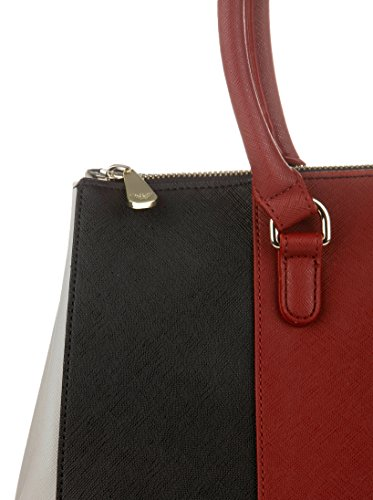 Armani Jeans 922574cc857, shoppers Rouge - Rot (BURGUNDY-NERO-GRIGIO 07276)