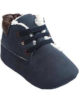 Amlaiworld Baby Kleinkind weiche Sohle PU Leder Schuhe Baby Boy Girl Schuhe