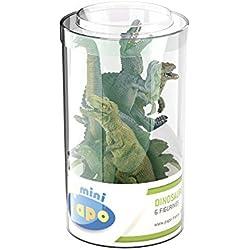 Papo - Mini tubo con dinosaurios (2033018.0)