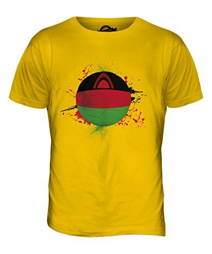 CandyMix Malawi Fußball Herren T Shirt Dunkelgelb