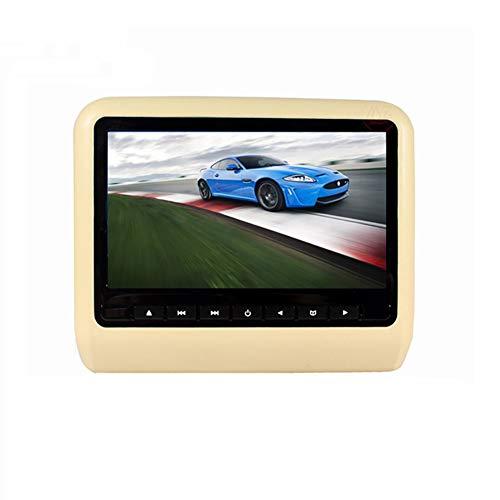 10,1-Zoll-Auto-DVD-Player Mit Touchscreen und ultradünnem HD-Kopfstützen-Monitor-Rücksitz im Auto-Unterhaltungssystem für Kinder mit HDMI USB SD (Wifi-auto-kopfstütze Monitor)