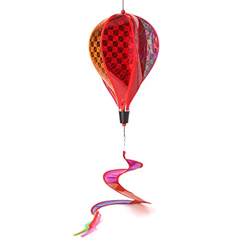 Senoow-Ballon-Windmühlen-Kind Spielt Glühen-gewundene Garten-Verzierungs-buntes Im Freien Spinner