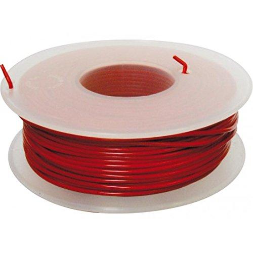Preisvergleich Produktbild Zahnseide Verkabelung Ø 1mm² 50m rot–BIHR 893271