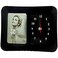 24,1cm Cadre photo avec horloge