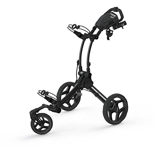 2016 Clicgear Rovic RV1S 3-Wheel Pull/Push Golf Trolley/Cart Charcoal/Black