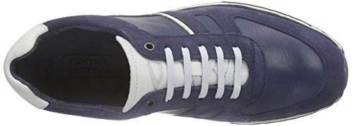 camel active Club 11 Herren Sneakers Blau (jeans/off-white)