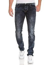 BLZ jeans - Jean slim bleu délavé homme