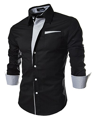 Smooth Comfortable Dress Shirts for Men Regular Fit Designer Shirt Formal Business Office Work Casual Special Occasion Size XXL