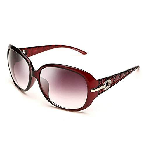 Oversized Eyewear One Size Sonnenbrillen Für Frauen 100% UV-Textur Gradient Eyes Round Frame Sonnenbrillen Promi-Brillen Fahren Outdoor-Mode Wild Classic Retro Sonnenbrille,C