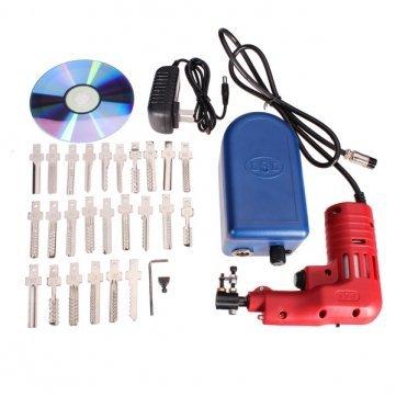 Qualitäts-elektrische 25 Pins Verschluss-Auswahl -Gewehr Dimple Lock- Bump -Schlosser-Tool (Gewehr-lock)