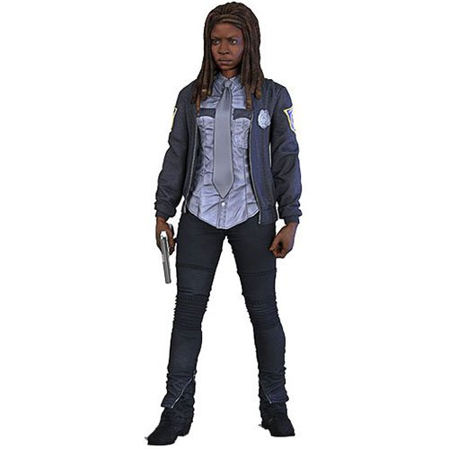 Image of Walking Dead TV Series Toy - Constable Michonne 6 Inch Collectable Action Figure - Series 9