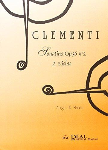 Muzio Clementi: Sonatina Op.36 No.2, para 2 Violas