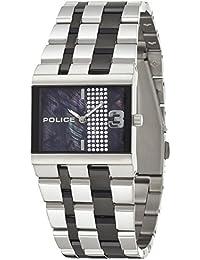 INTELIHANCE. 10501BS/30MA - Reloj de cuarzo para mujer, correa de acero inoxidable color plateado