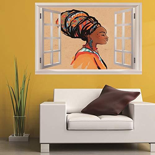 Zeichen 3D Gefälschte Fenster Landschaft Wandaufkleber Schlafzimmer Kinderzimmer Büro Diy Abnehmbare (50X70 Cm) ()