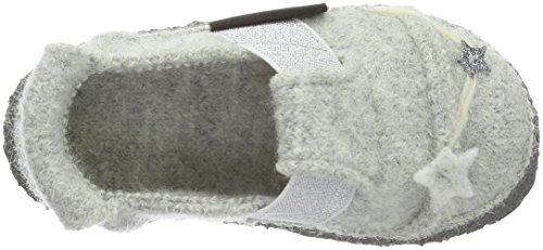 Nanga Twinkle Twinkle, Chaussons fille Gris - Grau (schiefer / 65)