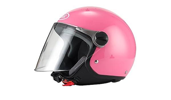 BHR Motorradhelm Modell 710 61 pink metallic Demi-Jet