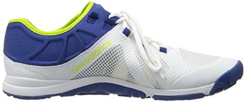 New Balance Men's 20v5 Minimus Training Shoe, White/Blue, 10 2E US White/Blue