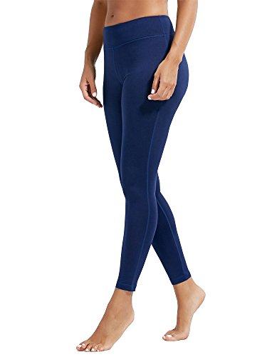 dh Garment Mallas Mujer Fitness Leggings Deporte Leggins Opaco Pantalones Gimnasio (Azul Oscuro, S / (Cintura:62-65cm))