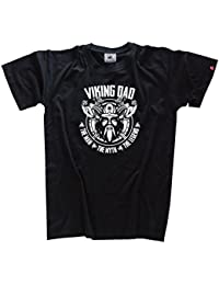 Viking-Shirts Viking Dad- the man the myth the legend Wikinger Papa T-Shirt S-XXXL