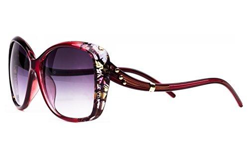 Efashionup Over Sized Women Sunglasses(2333 57 Black)