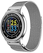 OPTA SB-100 Bluetooth Heart Rate + Smart Watch + All-in-One Activity Tracker + Sleep Monitor Compatible with A