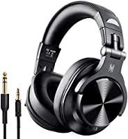 OneOdio A7 Fusion Bluetooth Over Ear Headphones, Studio DJ Headphones with Share-Port, Wired and Wireless Prof