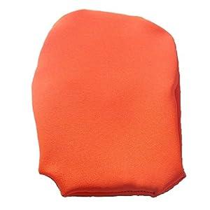 Simple Stoma Cover Ostomy Bag Cover Bengaline Fluozierendes Orange