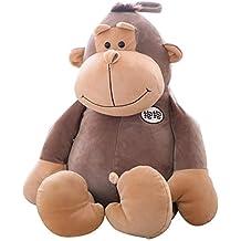 Muñeca de gorila Juguetes de peluche para niños Abrazo suave de mono Almohada de juguete para dormir Enviar a la novia un regalo de San Valentín Regalo para ...