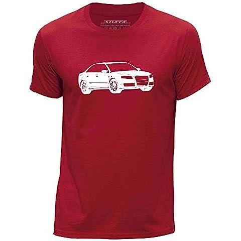 STUFF4 Uomo Girocollo T-Shirt/Plantilla Coche Arte / RS4