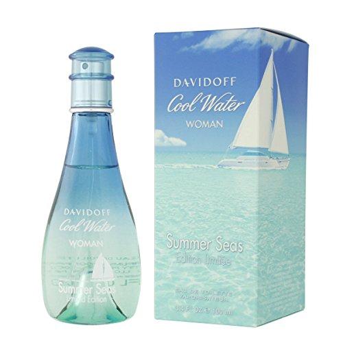Eau De Toilette Spray Von Davidoff (Davidoff Cool Water Summer Seas Woman Eau de Toilette Spray 100ml)
