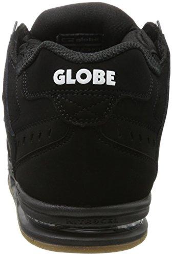 Globe Sabre Pantofole Uomo Schwarz black black gum