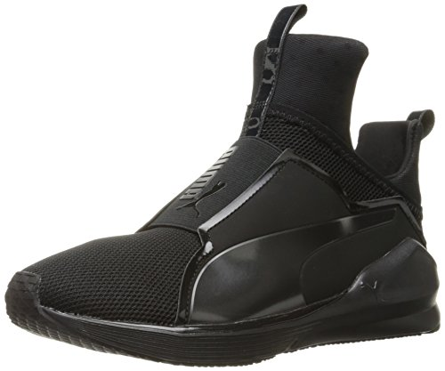 Puma Damen Fierce Core Sneakers, Schwarz Black Black 01, 42.5 EU (Mesh-bootie)