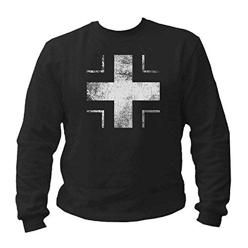 shirtmachine Eisernes Kreuz-Sweatshirt (XXXL) -