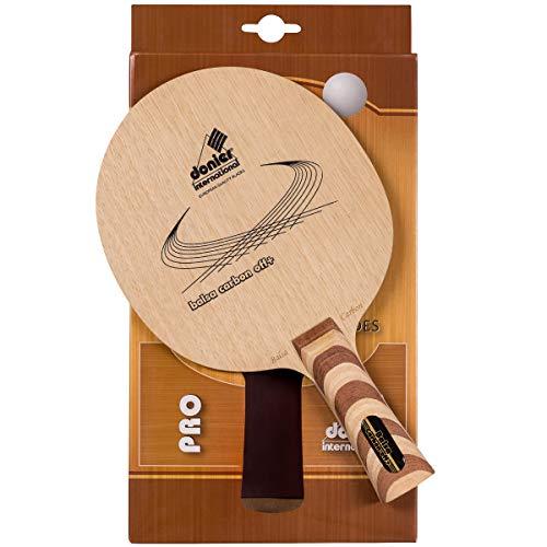 Donier Profi Tischtennis Schlägerholz Balsa Carbon Offensive +   Ping Pong Schlägerhölzer   Hergestellt in der EU   7- Schicht Holz, Extreme Schnelligkeit, Aggressive Angriffe   Indoor & Outdoor