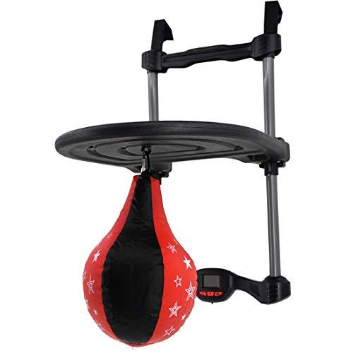 1c36de3024 deAO Plataforma de Velocidad Boxeo Infantil - Saco Hinchable de Entrenamiento  Para Colgar en la Puerta