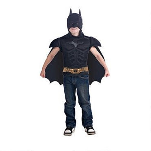 Rubies - 81197 - Batman - The Dark Knight Rises - Kinderkostüm - Batman Shirt mit