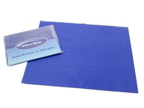 Ultra-Klar Microfaser Brillenputztuch (2, royalblau)