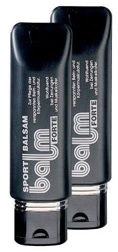 Hepp GmbH & Co KG – Balm forte Sportbalsam 360 ml (2 x 180 ml Tube)