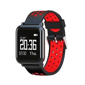 Chenang Sport Smart Watch,Health & Fitness Intelligente Uhr, Fitness Tracker Uhr,Gesundheits Information Erinnerung Smartwatch zur Herzfrequenz-und Fitnessaufzeichnung
