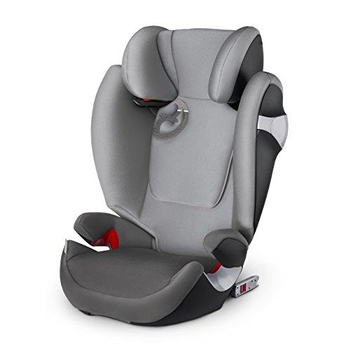 CYBEX Solución M de Fix Auto asiento Manhattan Gris