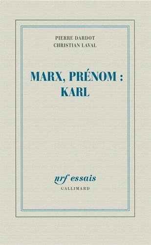 Marx, prnom:Karl