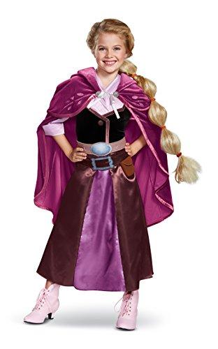 Deluxe Mädchen Tangled Rapunzel Kostüm - Tangled The Series Season 2 Deluxe