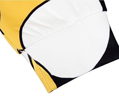 Thenice - Sweat-shirt spécial grossesse - Imprimé Animal - Col Rond - Femme Taille Unique Yellow adventure