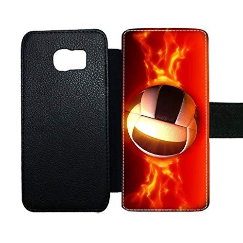 Preisvergleich Produktbild Gogh Yeah Verwenden F¨¹r S6 Samsung F¨¹r Kind Support-Karte Halten Flle Deckt D¨¹nnheit Haben Volleyball