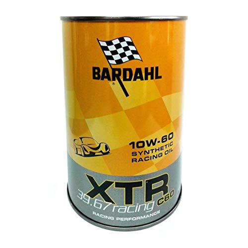 Olio motore auto Bardahl XTR C60 Racing 39.67 10W60-2 Lit