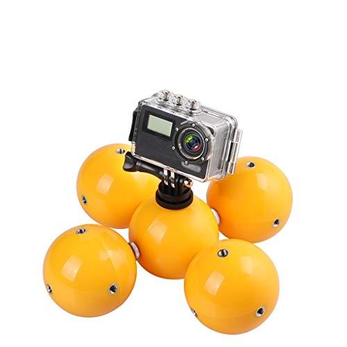Hunpta@ Schwimmball Selfie Stick Erweiterungs Zubehör Set für DJI Osmo Action Kamera Wasser Schwimmball, Handschlaufe, Schraube und Stecker Actionkameras Zubehör Set (Gelb)