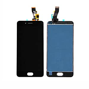 Meizu M3 mini Black Display Added Tempered Glass Touch Screen LCD Assembly Panel + Digitizer(With Tools)(Complete Package)