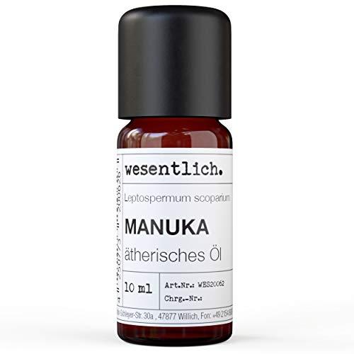 Manukaöl - reines ätherisches Öl von wesentlich. - 100% naturrein aus der Glasflasche (10ml)