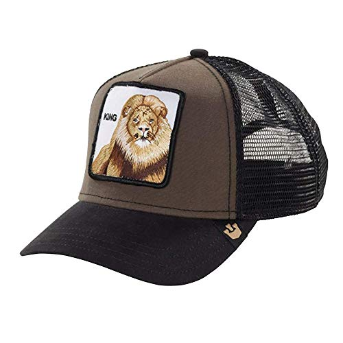 Gorra Curva Goorin Bros León King Black Brown